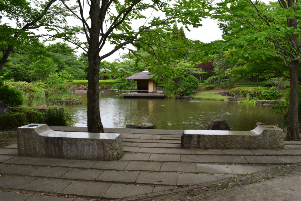 柏の葉公園日本庭園