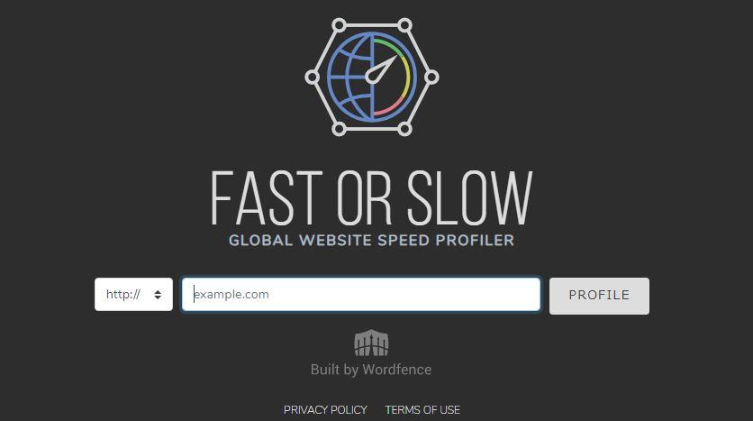 WEBサイトパフォーマンスチェックツール