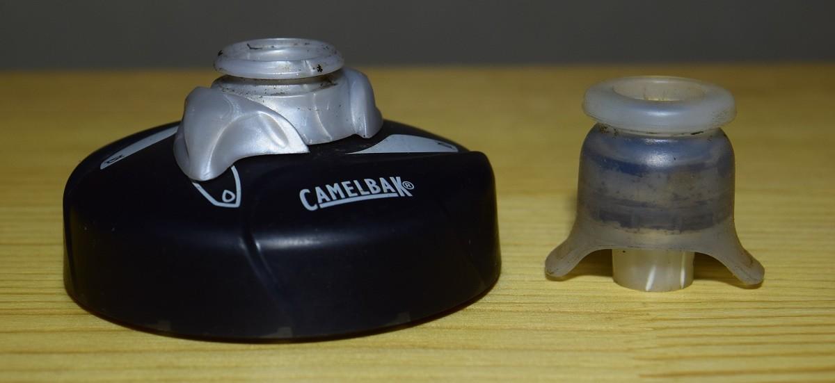 キャメルバック旧ポディウムボトル分解洗浄