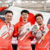 【詳報】因縁の対決を制した日本、2大会連続の金メダル獲得/男子チームスプリント(