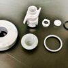 キャメルバック ポディウムボトル キャップ分解洗浄方法